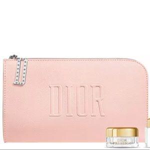 Pink Dior Pouch